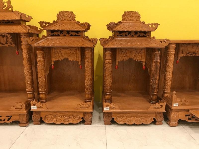 Bàn thờ gỗ xoan