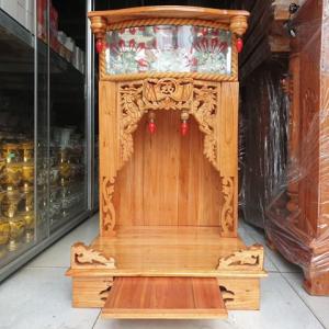 Bàn thờ Thần tài Thổ địa hổ phách truyền thống