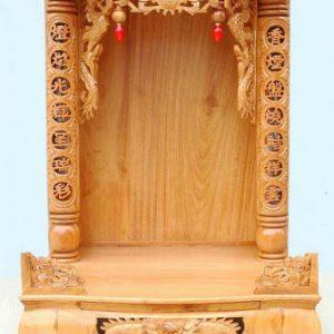 Bàn thờ Thần tài - Thổ địa mái bằng