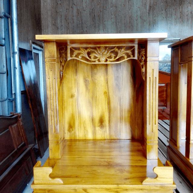 Gỗ Mít sự lựa chọn hàng đầu cho gian thờ