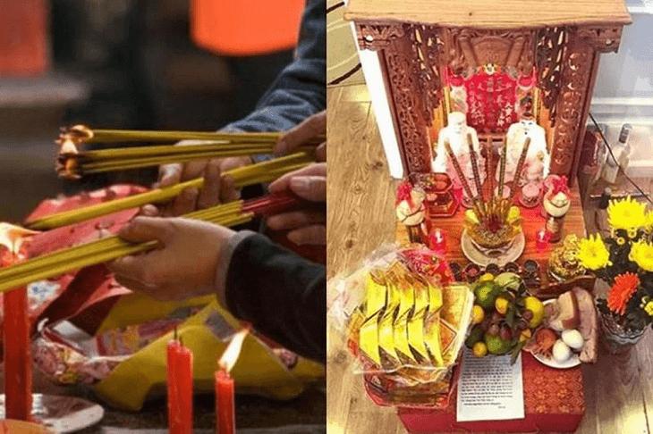 Thỉnh bàn thờ Thần Tài để thay thế bàn thờ thần tài của chủ cũ