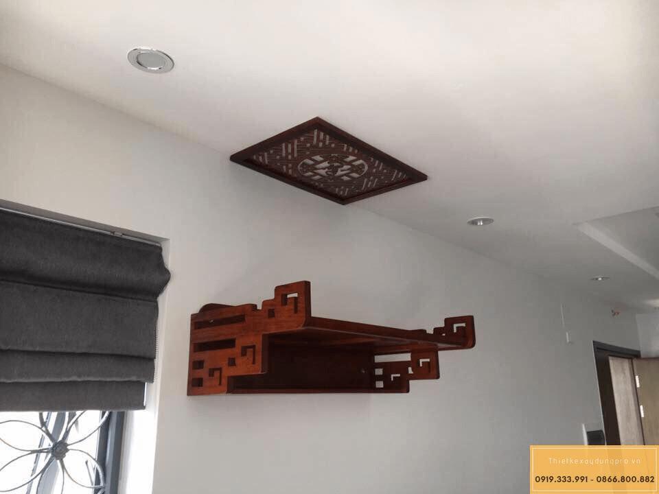 Bàn thờ treo tường nên sử dụng chất liệu nào?