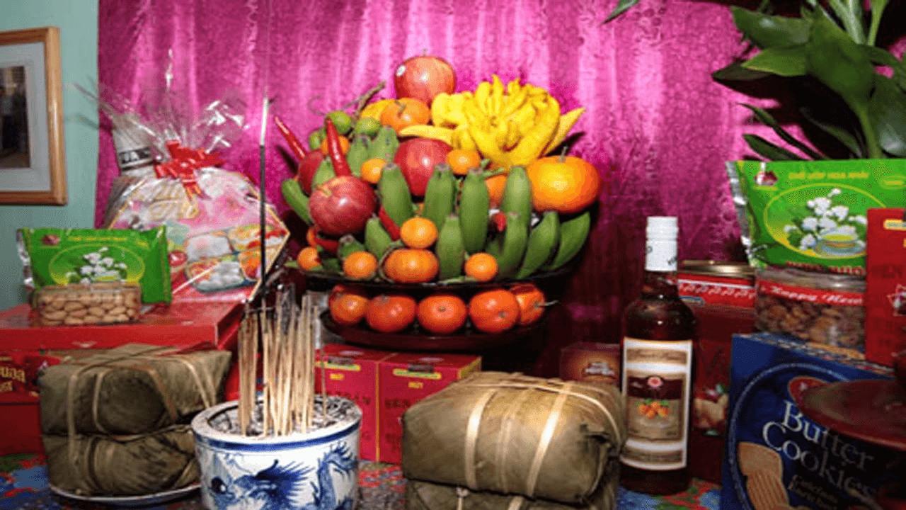 Những loại hoa quả trưng trên bàn thờ hợp phong thủy
