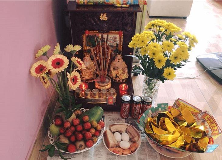 Lễ cúng bàn thờ Thần Tài - Thổ Địa ngày rằm
