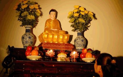 Bàn thờ Quan Âm gồm những gì và nguyên tắc bài trí bàn thờ Phật