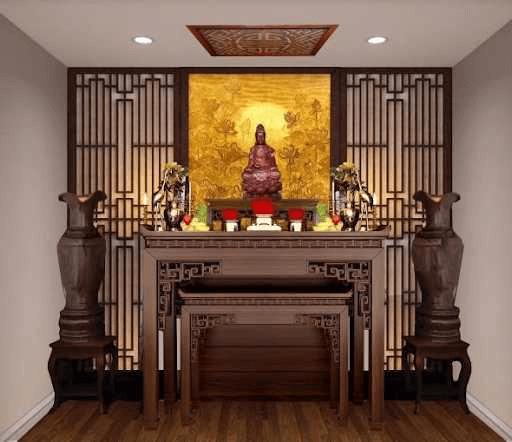 Cách bài trí bàn thờ mẹ quan âm đem đến sự bình an, may mắn và tốt lành