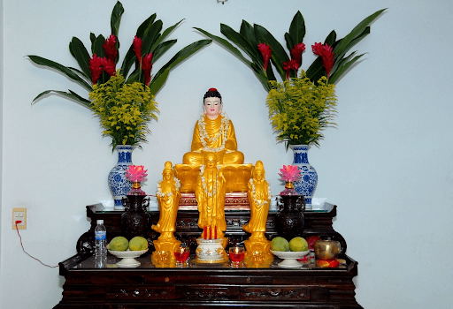 Hướng đặt bàn thờ Phật Quan Âm chuẩn